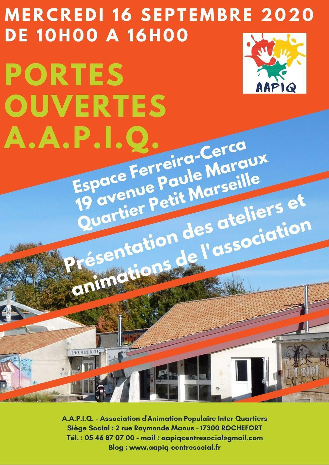 PORTES OUVERTES DE L'AAPIQ