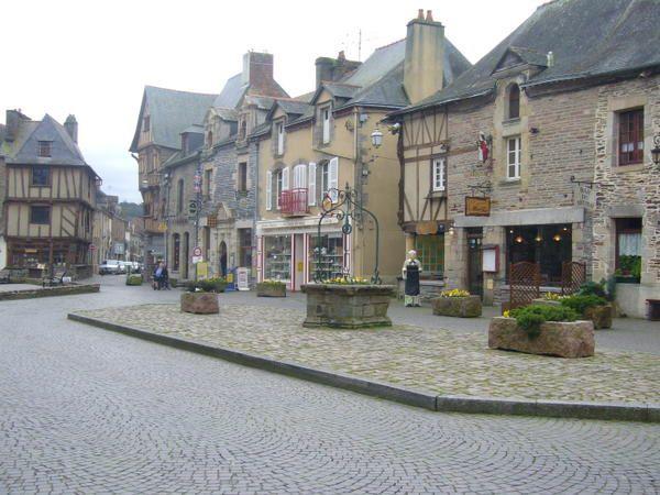 Honfleur, les Sables, Malestroit, Rennes