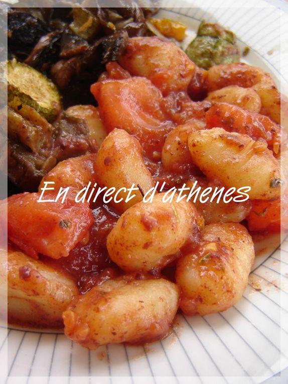 Album - Mes recettes ... pas grecques