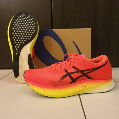 Test Asics Metaspeed Sky : des chaussures ultra rapides !