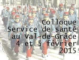 COLLOQUE SERVICE DE SANTE 14-18