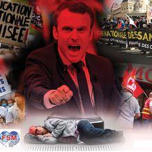 Macron nous fait la guerre ! Riposte le 5 décembre !