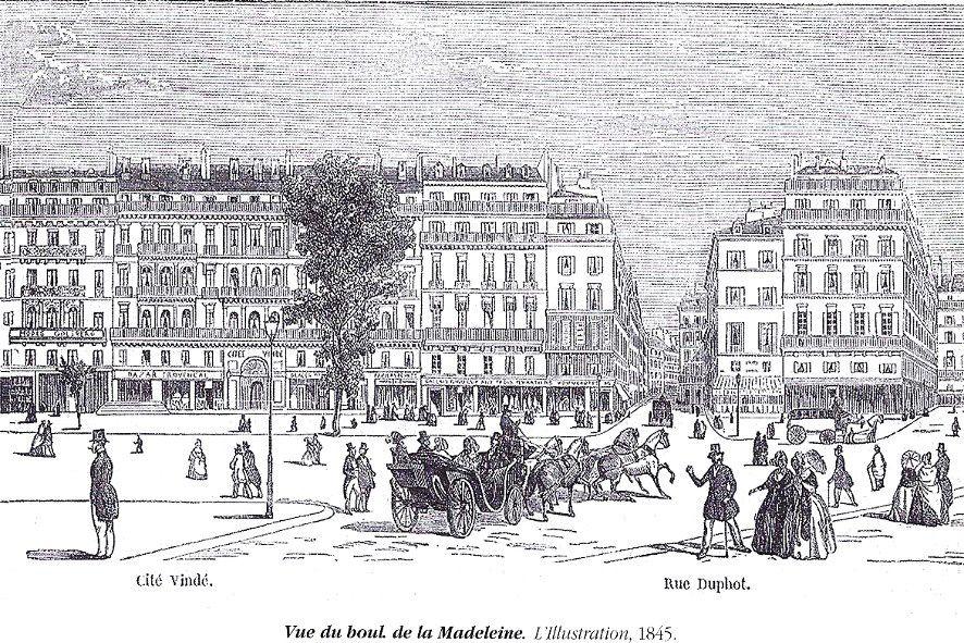Les trois quartiers 1845, 1855 & 1899