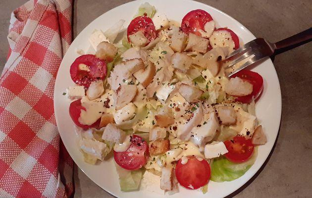 Salade façon  César facile
