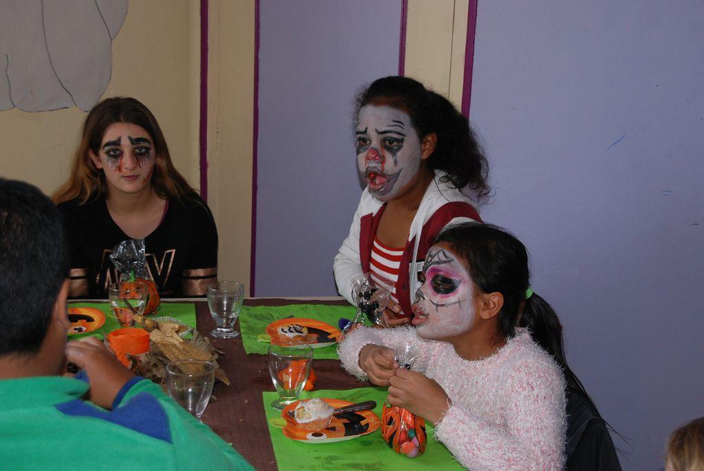 Repas Solidaire spécial Halloween à familles Laïques VLP
