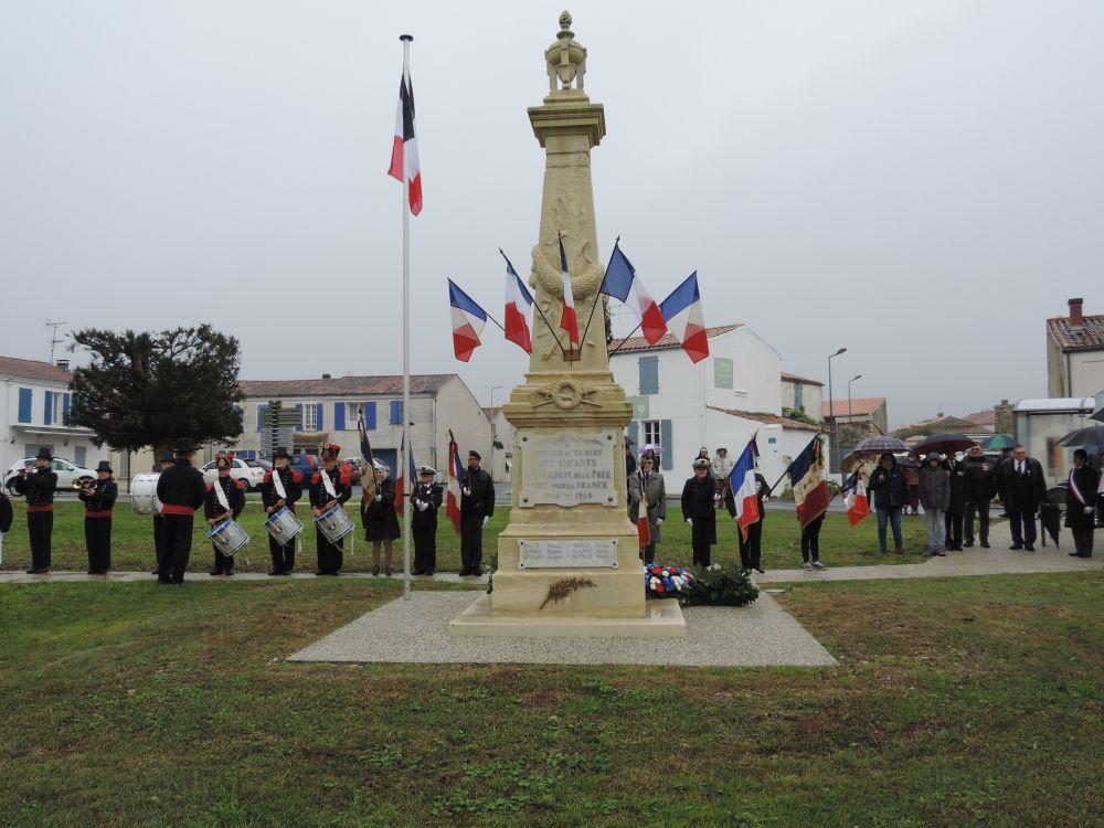 Céromonie du 11 novembre