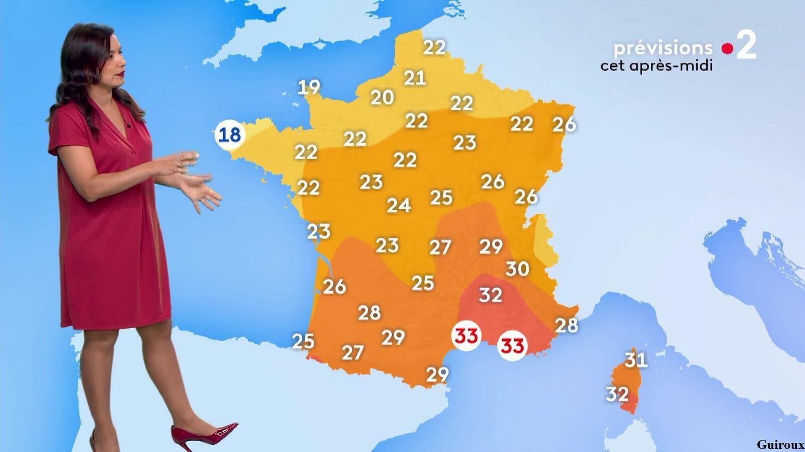 Anaïs Baydemir 29/07/2021 Journal météo du midi