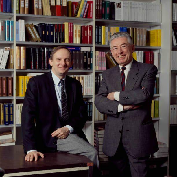 Jacques Derogy et Jean-Marie Pontaut