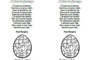 À l'aube du printemps - Paul Bergèse - CP-CE1-CE2-CM1-CM2