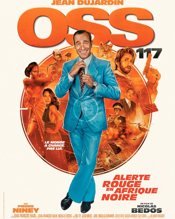 Changement de date pour le grand retour d' #OSS117 - au Cinéma le 14 avril 2021