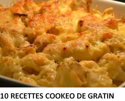 PDF GRATUIT 10 recettes de gratin au cookeo