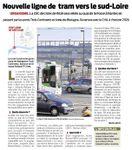 Nouvelle ligne de tramway vers le sud Loire