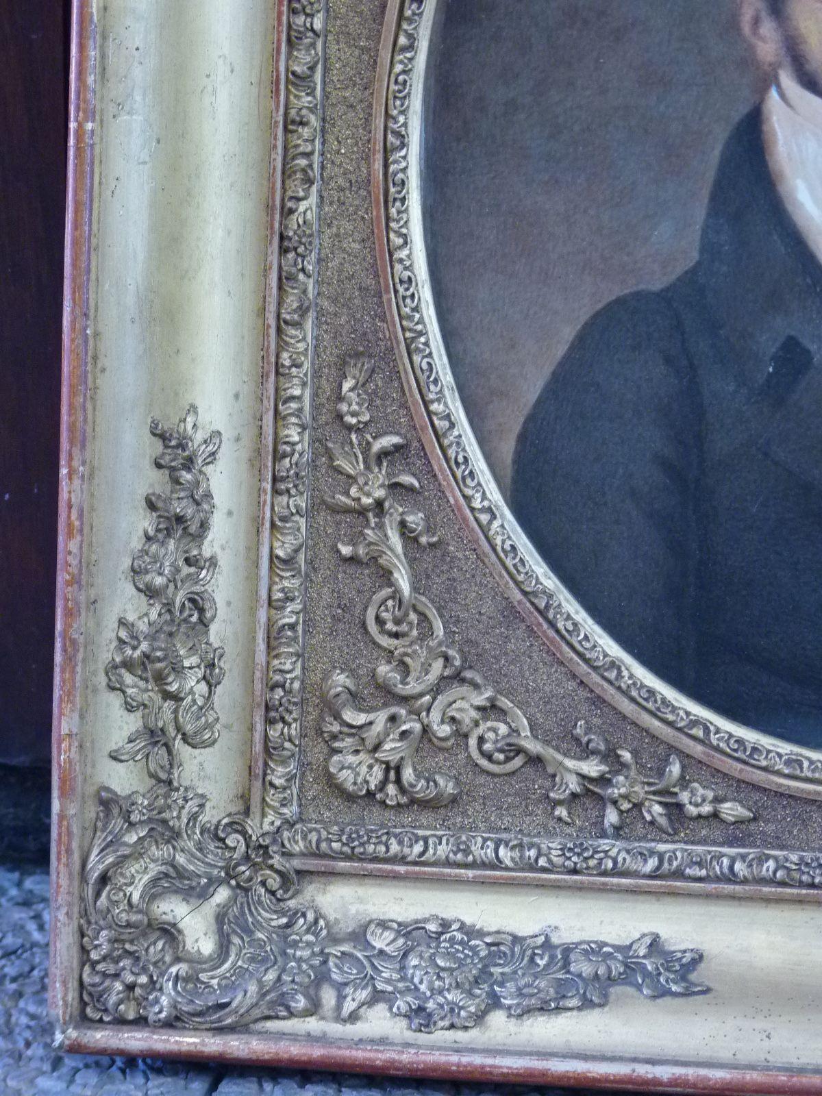 Paire de Portraits, Epoque Restauration