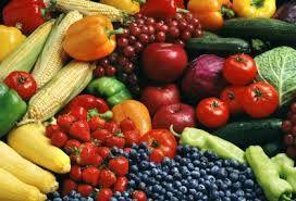 Los alimentos antioxidantes te protegen de la contaminación.