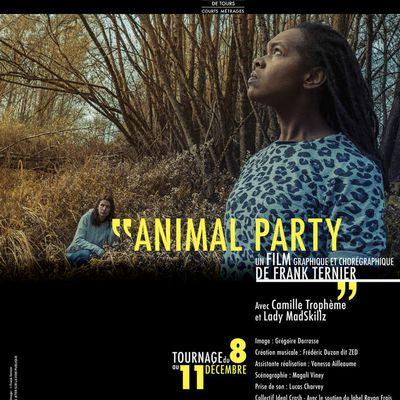 """Du 8 au 11 décembre tournage du film de Frank Ternier """" Animal Party"""""""