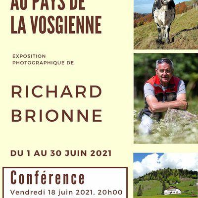 """La médiathèque de Mirecourt présente """"Au pays de la vosgienne"""" Conférence le vendredi 18 juin"""