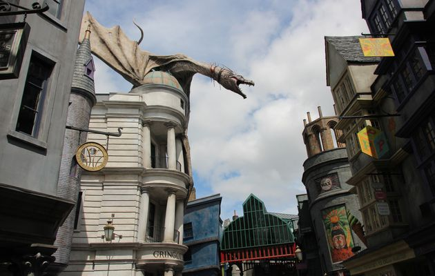 Les boutiques du Wizarding World of Harry Potter !