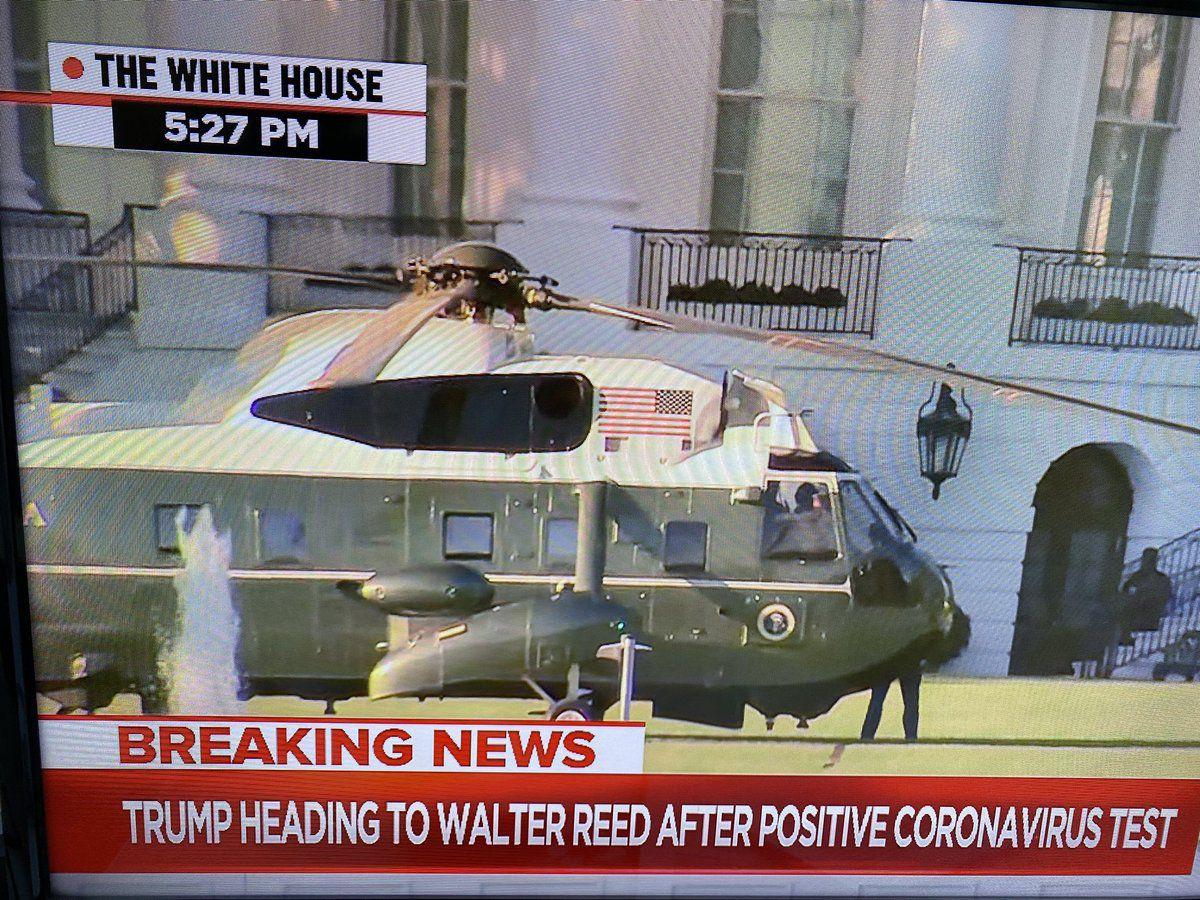 Donald Trump hospitalisé