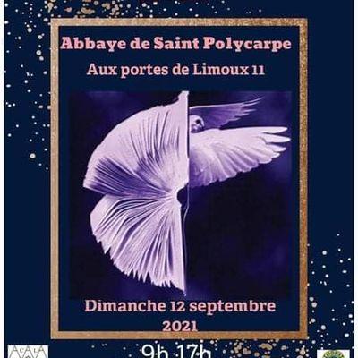 Le 12 septembre, l'Abbaye de Saint Polycarpe, aux portes de Limoux...