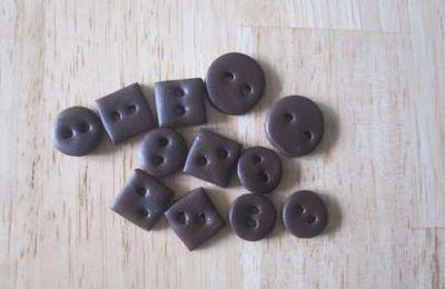 Fimo : les boutons