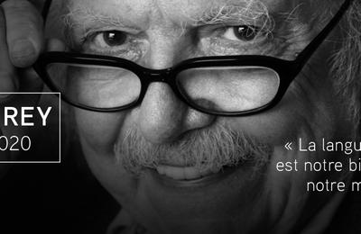 Hommage à Alain REY (30 août 1928 - 28 octobre 2020)