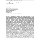 (PDF) Trembling With Joy: Anthropology, Trembling Practices Worldwide