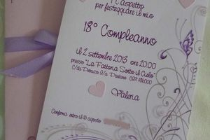 Idee 18° compleanno