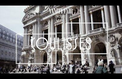 Les ateliers de l'Opéra Garnier...