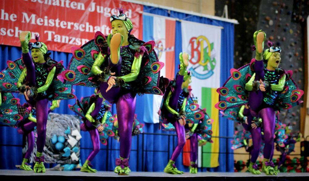 1. Soul City Dancers Hof: Pfau mal, wie der aussieht - 446 Punkte