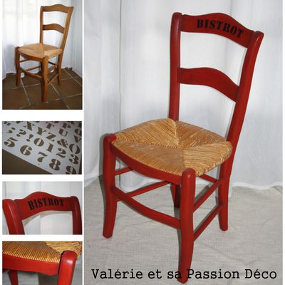 Chaise Relookée - SAL