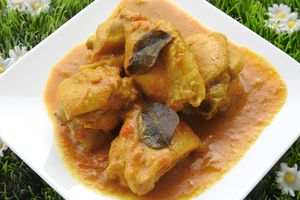 CURRY POULET AU LAIT DE COCO (Cookéo)