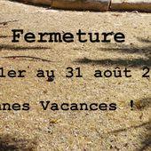FERMETURE EN ÉTÉ ! - Le Boucl'Art