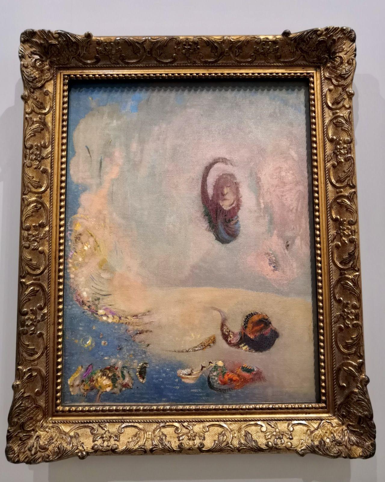 Odilon Redon (1840-1916), Oannès, 1900-1901, Huile sur toile, Otterlo, Kröller-Müller Museum