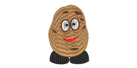 BRODERIE PATATE BONHOMME