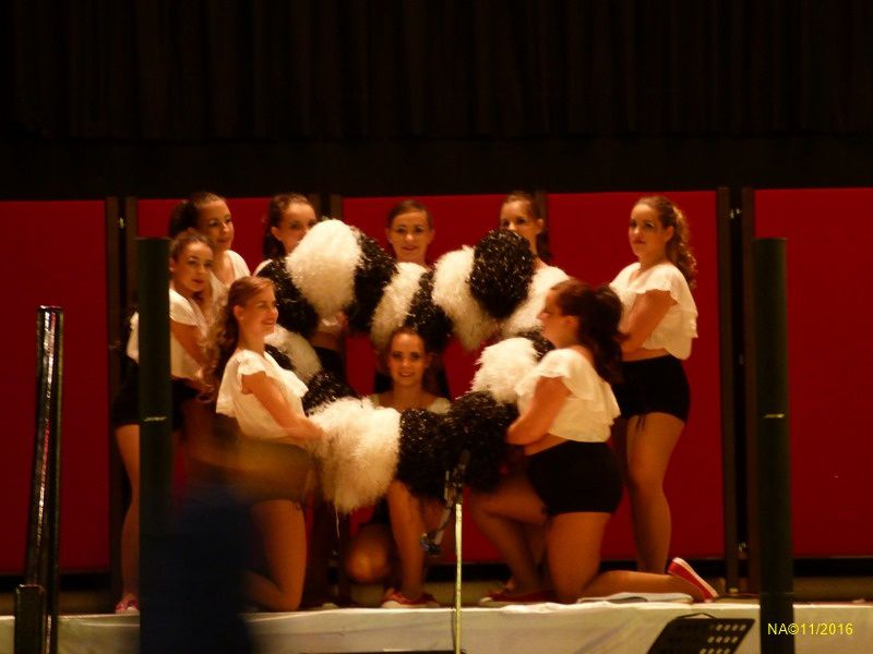 De la valse, au charleston en passant par le madison, les danseuses ont terminée leur prestation par un french cancan endiablé