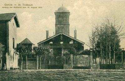 Photos d'archive de la chapelle Saint-Thiébault