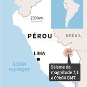 MAJ - Séisme de magnitude 7,1 à la frontière entre Pérou et Brésil, pas de victimes - MOINS de BIENS PLUS de LIENS