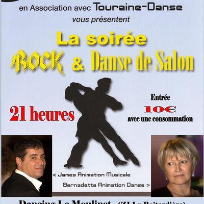 Samedi 27 Avril 2019. Soirée Dansante animée par James au Moulinet à Amboise.