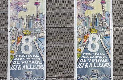 Ici & Ailleurs 2017 // Festival du carnet de voyage de Brest !