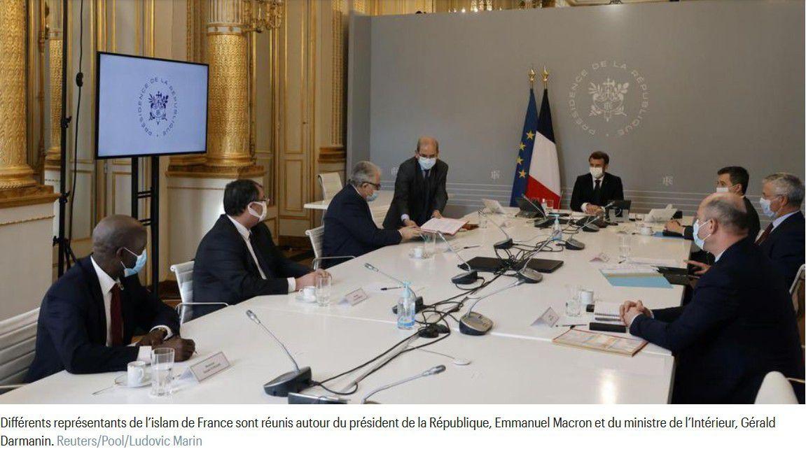 Information : Présentation de la charte des principes pour l'islam de France au président de la République - CFCM