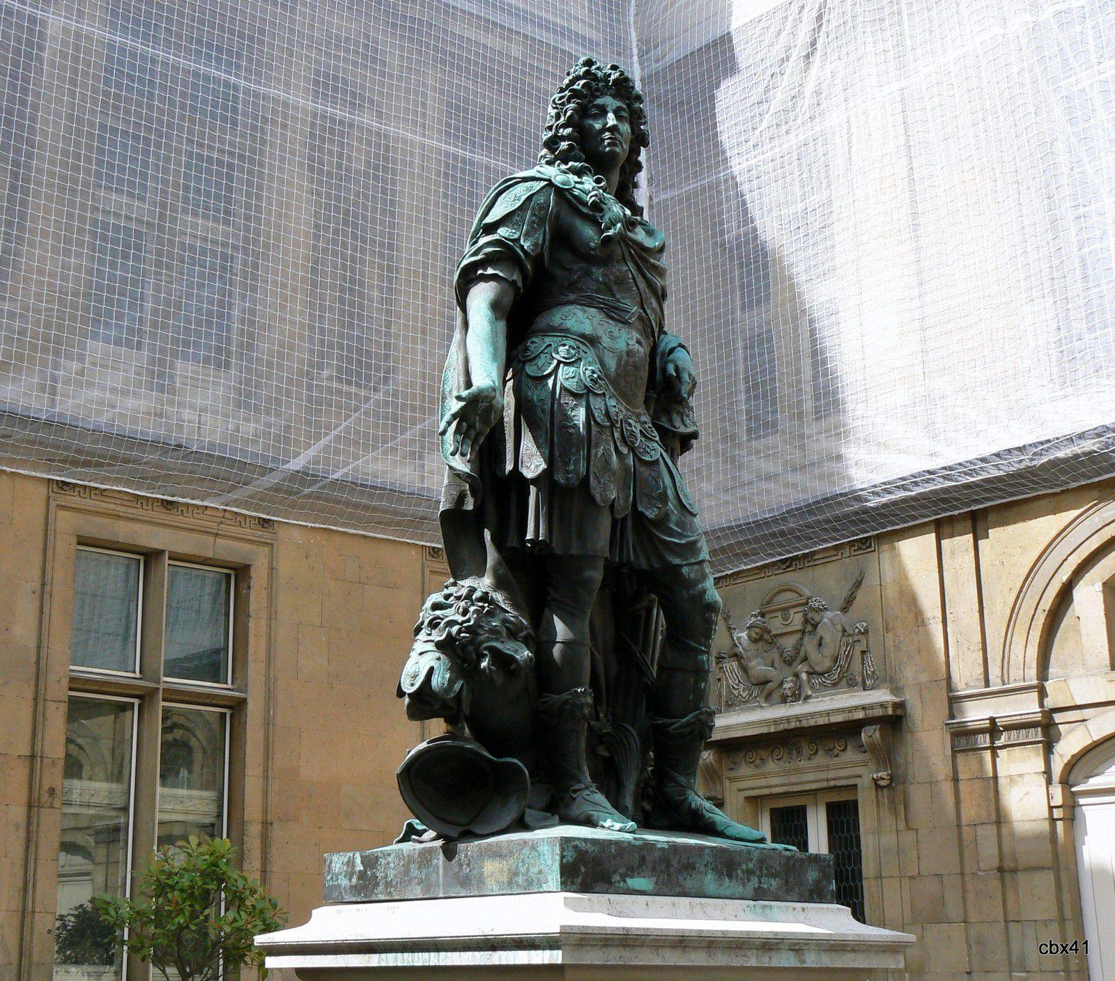 Antoine Coysevox, Louis XIV (musée Carnavalet)