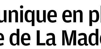 """LA PROVENCE : """"UN AUTEL UNIQUE EN PLEIN COEUR DE LA MADELEINE"""""""