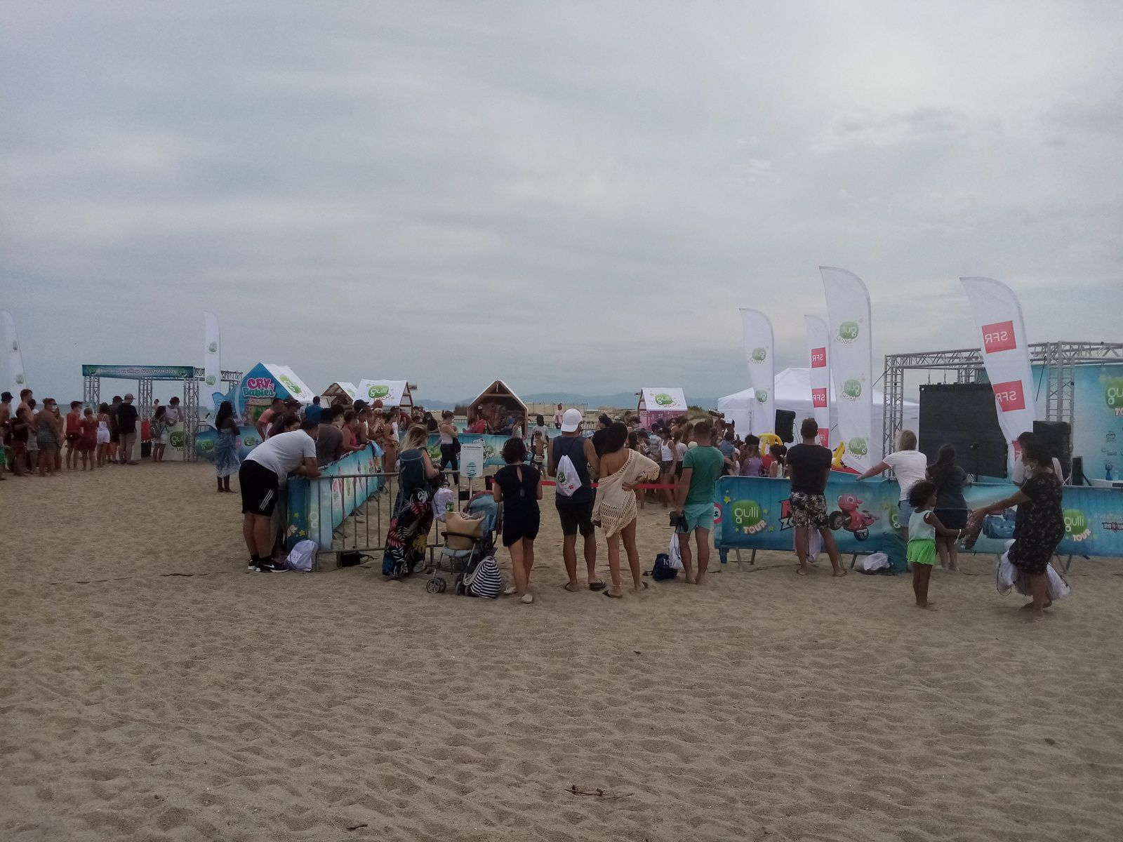 Gulli tour à Leucate plage