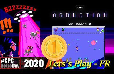 Amstrad CPC - The Abduction Of Oscar Z (1er du CPCRetroDev 2020)