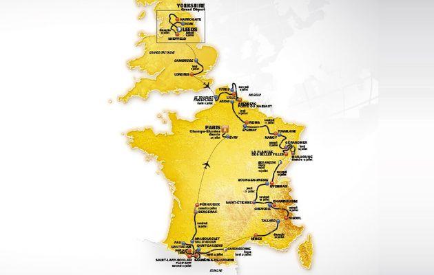 Vidéo - Découvrez le tracé du Tour de France 2014