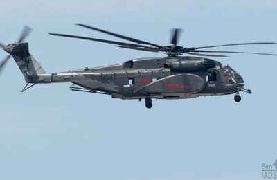 "Sikorsky MH-53E ""Sea Dragon"" - Helicopter Sea Combat Wing - Helicopter Mine Countermeasures Squadron 12 (HM-12) ""Sea Dragons"" - Special marking ""Dragon"""