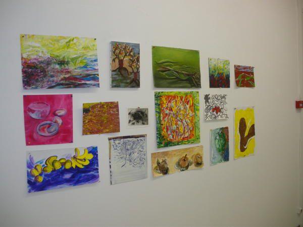 Photos d'oeuvres d'artistes Héninois dans le cadre de l'opération Portes ouvertes aux ateliers d'artistes