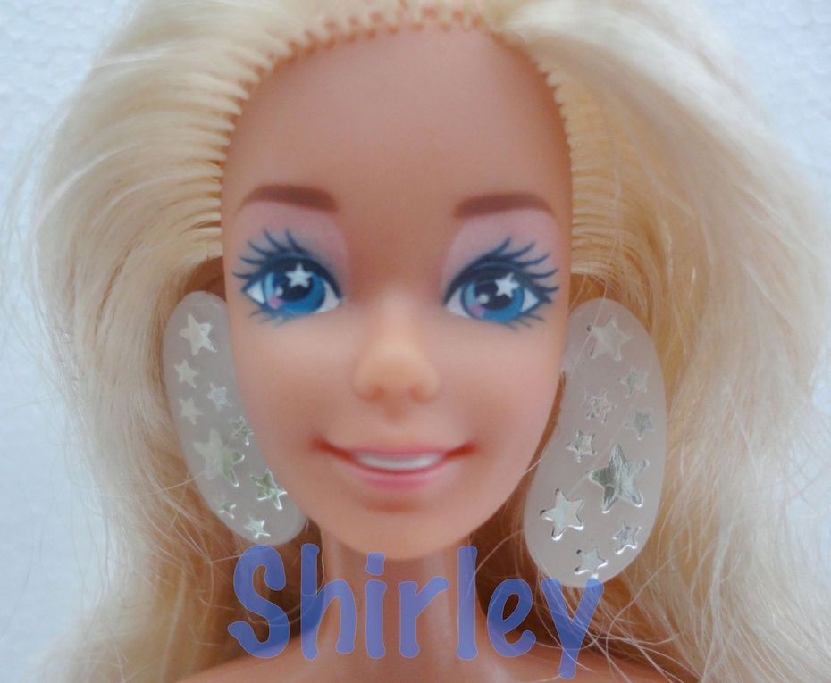 """SUPER STAR"" BARBIE DOLL 1988 MATTEL #1604"