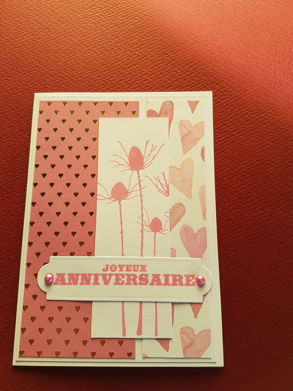 Quelques cartes anniversaires