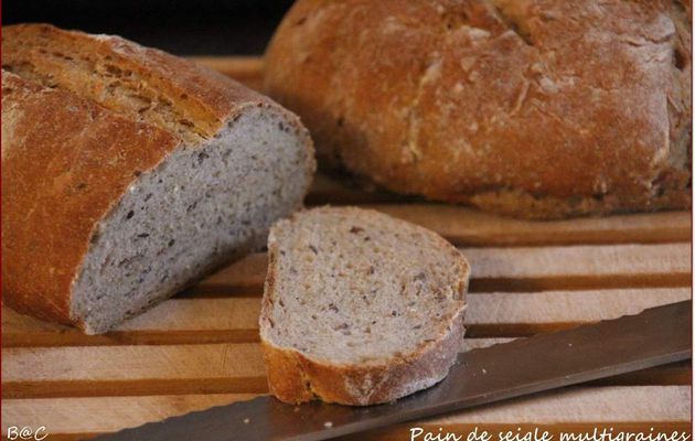 Pain de seigle multi-graines